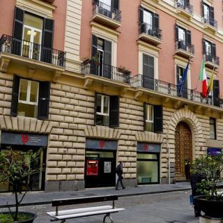 Napoli via Verdi palazzo consiglio comunale
